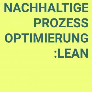 Nachhaltige Prozessoptimierung : Lean